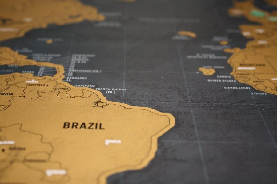 Географическая карта 14100919