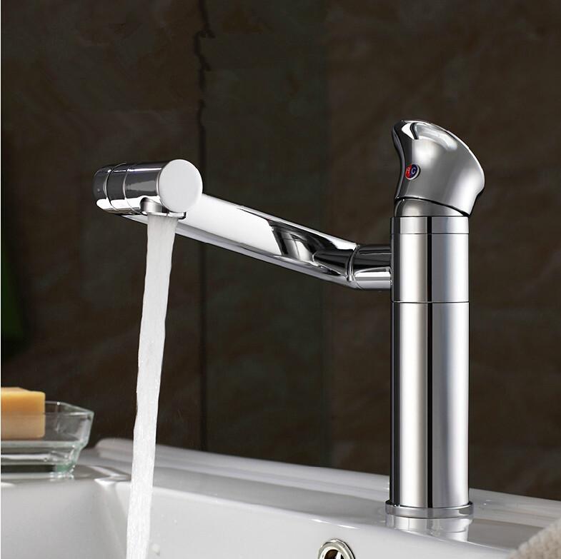 Bathroom Faucet For Sink Tap Lucky Cat Basin Faucet 360 Degree Rotating Maneki Faucets Single