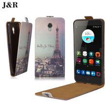 HOT ! PU Leather Case Flip Cover ZTE Blade V7 v7 Sparkle Open Style Best Quality Protector case cover - Fashion Factory store