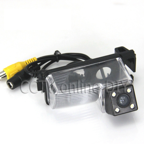 CCD 420TVL Special Car Rear View Back up Camera Night Vision Weatherproof Special for Nissan LIVINA Geniss GF-R Tiida(China (Mainland))