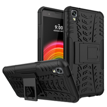 Buy LG X power Case Dual-Layer Shock Proof Rubber Full Protective Case LG X power k220ds k220y k220 Ls755 us610 k450 Fundas for $2.69 in AliExpress store