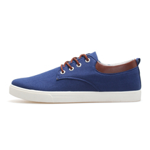2016 Spring Canvas Shoes Men Shoe New Hot Zapatos Hombre Mens Fashion Zapatos Casual Schoenen Man Solid Color Lace-up Schuhe(China (Mainland))