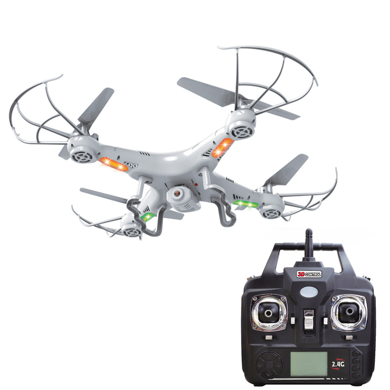 X5C-1 X8 Headless Mode RC Quadcopter Without/With 2.0MP HD Camera 2.4G 4CH 6Axis Helicopter Drone VS SYMA X5C Remote Control Toy