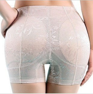 New Fashion High Waist Lady Padded Push Up Seamless Butt Lift Hip Enhancer Shaper Panties Underwear Beautify buttock up briefs(China (Mainland))