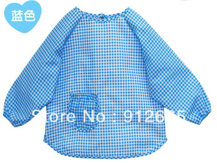 20pcs/lot Waterproof Baby Feeding Bibs Burp Smock Infant Overclothes Children Pinafore,Free Shipping<br><br>Aliexpress