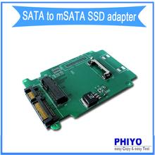 sata to msata ssd adapter, sata to mini-SATA riser card, sata to mini PCIe msata convertor, sata to msata ssd adaptor, phiyo(China (Mainland))