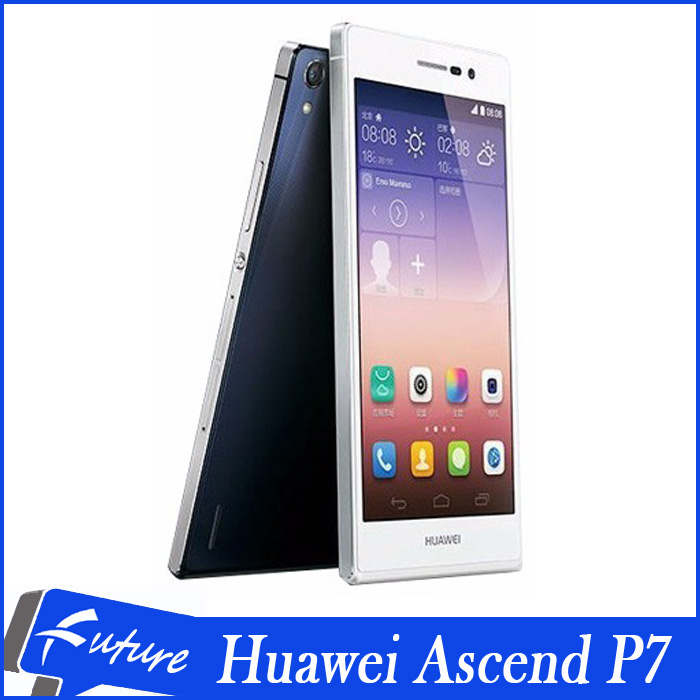 "Original Huawei Ascend P7 5.0""IPS 13.0MP Camera Android cell phones LTE 4G WIFI GPS Quad Core 2GB RAM 16GB ROM Free Shipping(China (Mainland))"