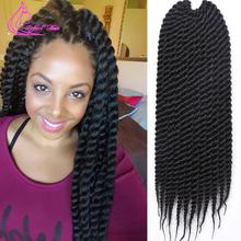 "Biggest Discount Kanekalon Xpression Braiding Hair Extension 12Roots/Pack 85G/Pack 18"" Box Braids Crochet Braids Mega Hair(China (Mainland))"