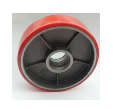 supo hydraulic car nylon wheels polyurethane PU manual forklift handling