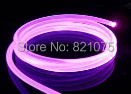 D6.0mm Solid Core Side Glow Plastic Optical Fiber Cable 5m Length Toneon Alternative PMMA Decorative Indoor Underwater - Shenzhen HongLu CO. LTD. store