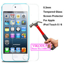 For iPod Touch 6 5 itouch6 iTouch5 glass film 9H tempered glass film screen protector anti-explosion glass screen protection