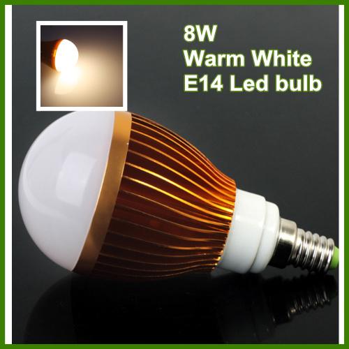 800lm warm light e14 8w globe led bulb light lamp bright warm white high luminous energy saving. Black Bedroom Furniture Sets. Home Design Ideas