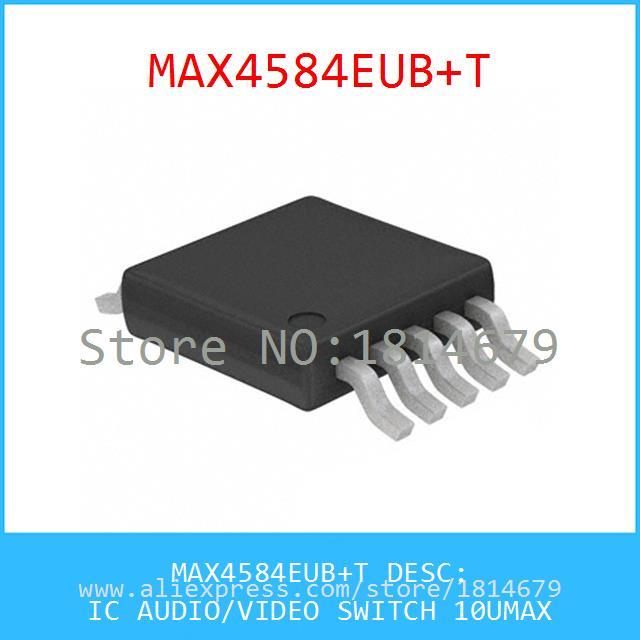 схемы MAX4584EUB IC аудио