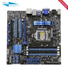 Для Asus P8H67-M PRO H67 оригинальный используется настольный материнская плата сокет LGA 1155 DDR3 горячая распродажа