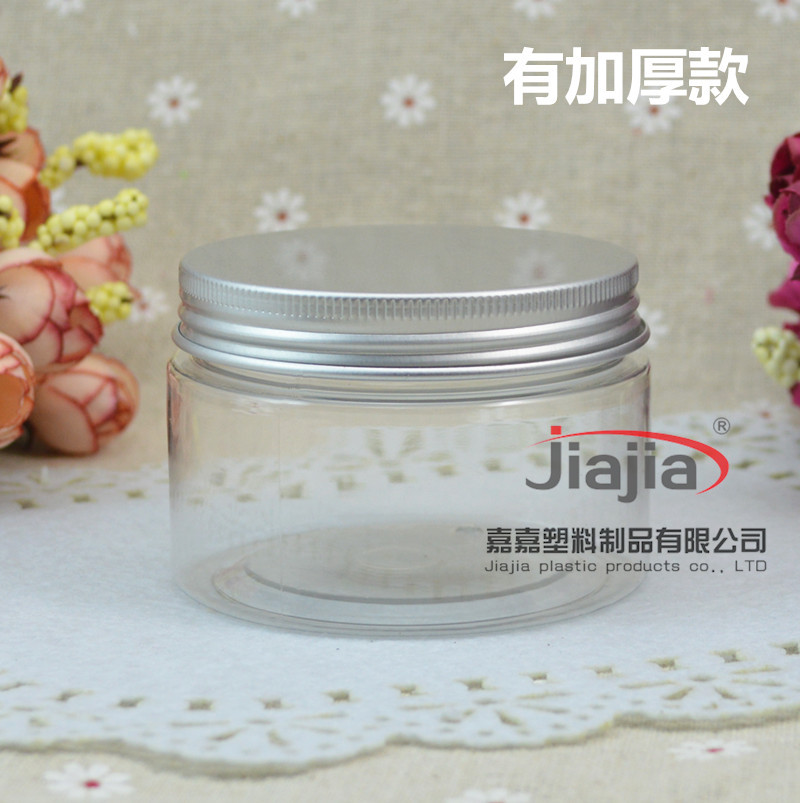 120ml Empty Container for Styling Gel Hair Wax 120g Cream Jar PET Packaging Wholesale Clear Jar,the body of bottle is thinner(China (Mainland))