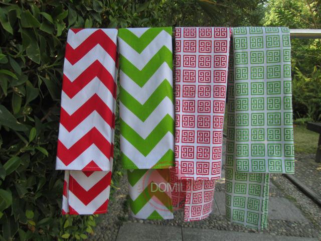 Monogramable Canvas Chevron Kitchen Towel , Personalized Greek Key Kitchen Towel DOM-1010028(China (Mainland))