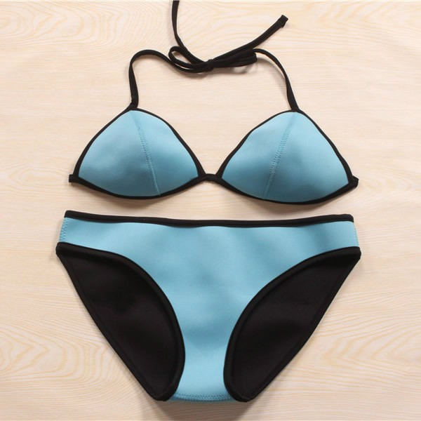 The Sale Women New Brand Neoprene Sexy Bikinis Set Vintage ...