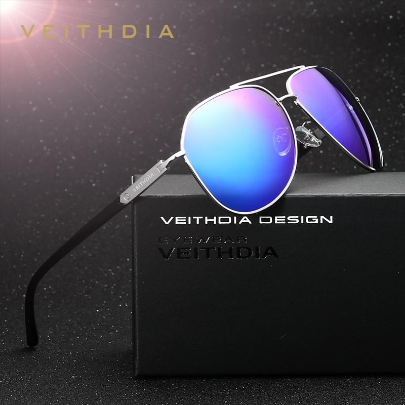 VEITHDIA Brand Fashion Unisex Sun Glasses Polarized Color Coating Mirror Driving Sunglasses Male Eyewear For Men/Women 2732(China (Mainland))