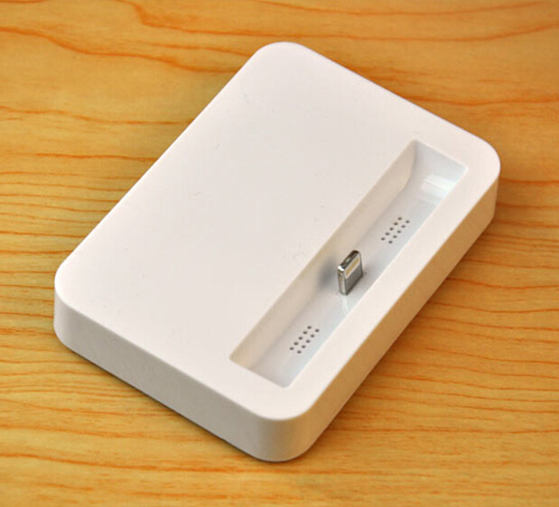 For Apple original Stand Base Cradle Dock Charger Station Charging Audio Output For iPhone 5 5s 5c 6G 6Plus White(China (Mainland))
