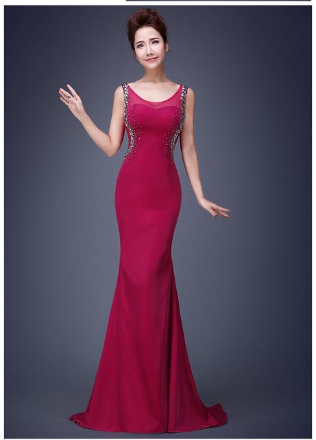 2016 бесплатная доставка сатинировки о-образным вырезом ну вечеринку платье длинное ...