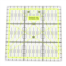 Free Shipping 1pcs 15 * 15cm * 0.3cm Quality Acrylic Material Patchwork Ruler Very Good Quality(China (Mainland))