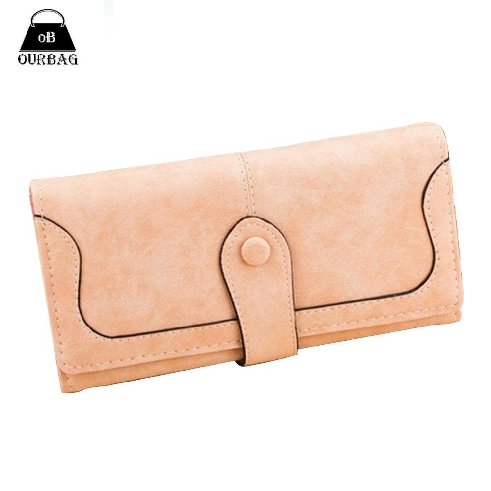 Гаджет  Fashion Elegant Women Matte Wallets Stitching Long Wallet Purse Card Holder Navy Blue Rose Red 5 Colors Available Coin Bag None Камера и Сумки