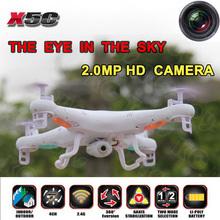 10 pcs/lote X5C X5C – une Explorers RC Quad hélicoptère avec caméra HD 4CH 2.4 Ghz Drone télécommande hélicoptère avec LCD émetteur