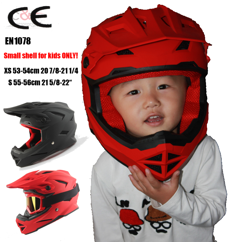 Nikko N42 kids helmets ALLTOP Downhill Mountain Bike Bicycle BMX Helmet DH MTB Full Face CE casco capacetes can wear goggles(China (Mainland))
