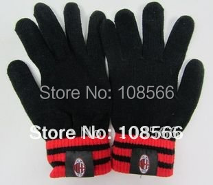 ACmilan  thick gloves/knitting wool gloves to keep warm