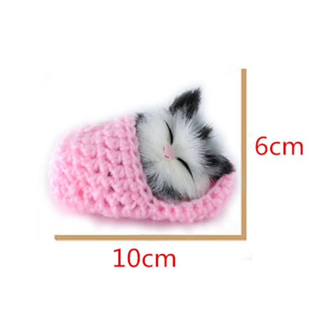 Супер Мило Моделирование Звучание Обуви Котята Кошки Плюшевые Игрушки Детские Успокоить Кукла Рождественские Подарки На День Рождения