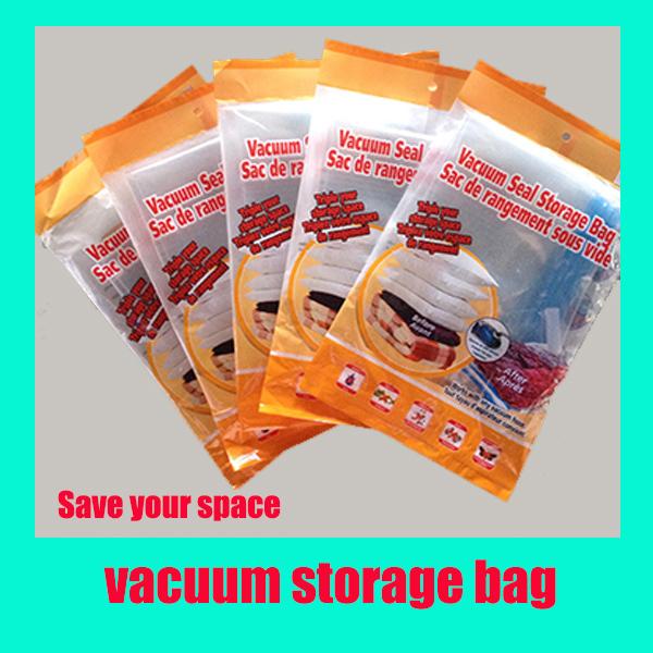 Z211  Space Saver Saving Storage Bag Vacuum Seal Compressed Organizer vacuum bag(China (Mainland))