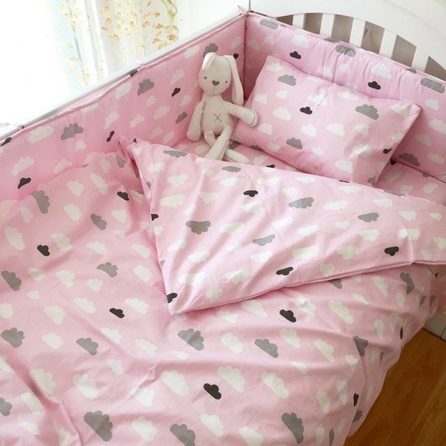 Детское постельное белье набор для новорожденного ребенка, в том числе пододеяльник ...