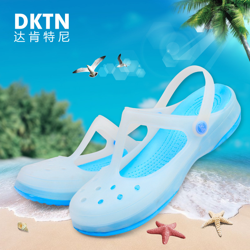 Ms. Mary Jane authentic hole shoes breathable summer mules and clogs garden shoes new thick wedge bottom women shoes #B1146<br><br>Aliexpress