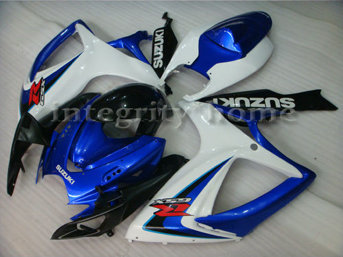 Injection Fairing ABS Moto Set For Suzuki GSX-R 2006 2007 600 750 Not-Handmade Flame Free Shipping by EMS K60013A