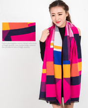 LOWEST PRICE 2015 autumn and winter fashion cashmere scarf High Quality New Design Color Mixing Free Shipping(China (Mainland))
