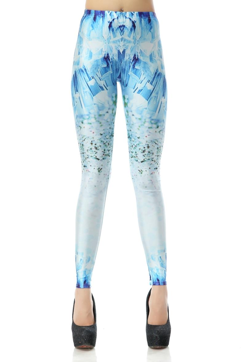 Cool Style Galaxy Patterned Print Halloween Spandex ...