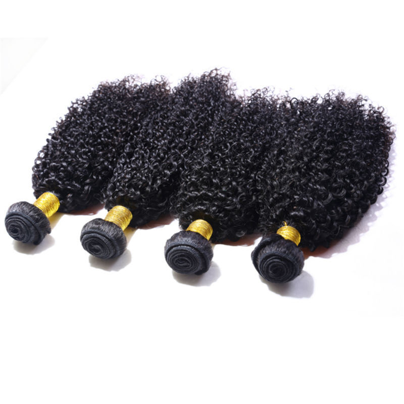 Peruvian Curly Hair 4pcs/lot Peruvian Virgin Hair Kinky Curly Virgin Hair Human Hair Extensions Kinky Curly Weave Free Shipping