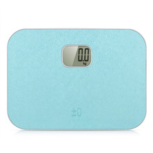 Precision Electronic Personal Scales Body Fat Scales Bathroom Weight Scales Portable Home Use with LCD Display Blue and Pink(China (Mainland))