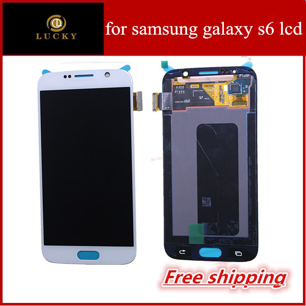 Для samsung galaxy s6 жк-дисплей с сенсорным экраном замены дигитайзер