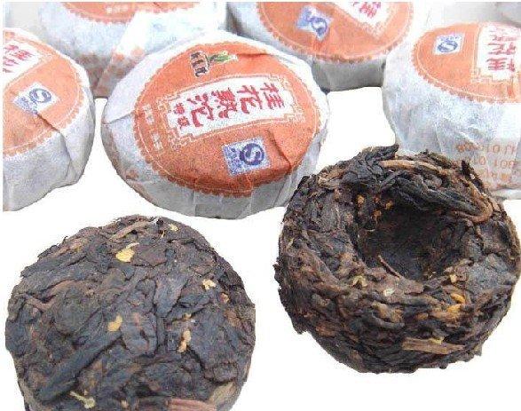 42pcs Osmanthus fragrans puerh tea Pu er tea A2PT14 Free ShippingShipping