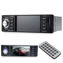 New 4016C 4.1 Inch Embedded Car MP4 Player with USB SD AUX Ports LCD Display FM