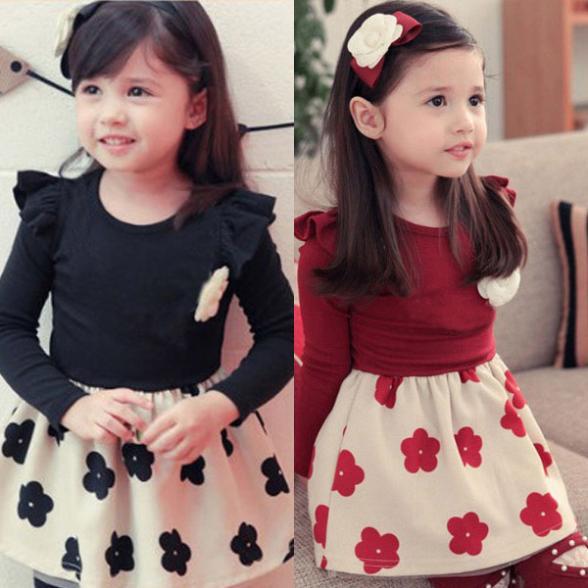 Платье для девочек Unbrand 1 1/6y Kids Dress