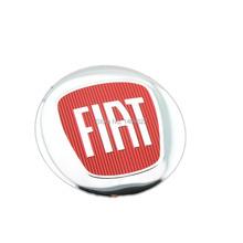 100pcs/set  56.5MMFiat Wheel center cap badge emblem wheel cap aluminum stickers emblem Free Shipping(China (Mainland))