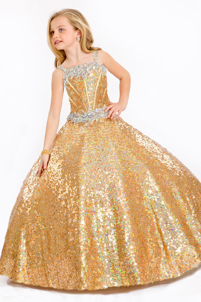 Free shipping 2015 pageant dresses for little girls cheap flower girl dresses for weddings beauty pageants for children in STOCK(China (Mainland))