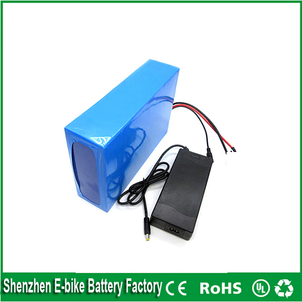 1000w 48v 20ah Lithium Battery Pack with Battery Management System bms for E-bike with 30A BMS 54.6v 2A charger For Samsung Cell<br><br>Aliexpress