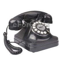 Free Shipping Retro Style Telephone Landline Wired Table Telephone for Home
