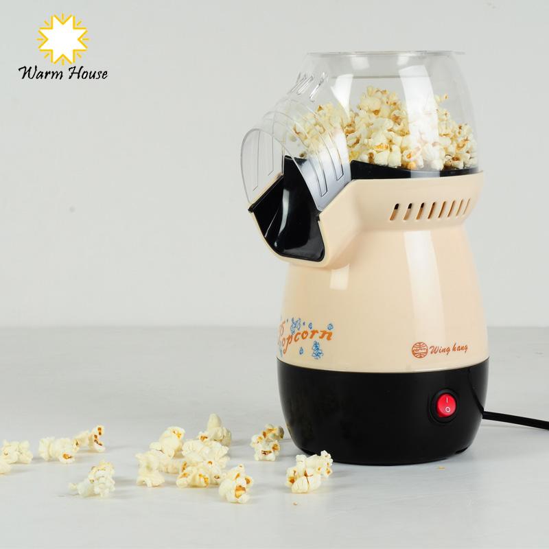 1Pcs Electric DIY Mini Hot Air Commercial Popcorn Machine Poper Pop Corn Maker Household Kitchen Appliances Machine