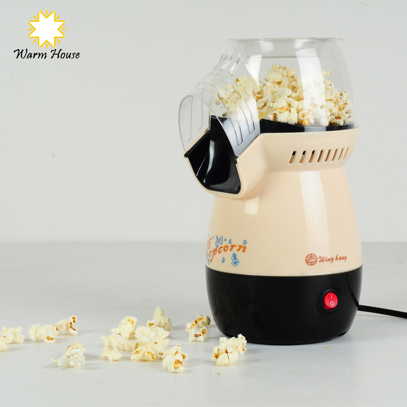 1Pcs Electric DIY Mini Hot Air Commercial Popcorn Machine Poper Pop Corn Maker Household Kitchen Appliances Machine(China (Mainland))