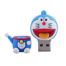 Cute cartoon doraemon usb flash drive 64g 32g 16g pen drive