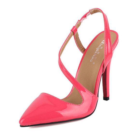 Women shoes size 11 pointed toes red bottom high heels Women pumps ...